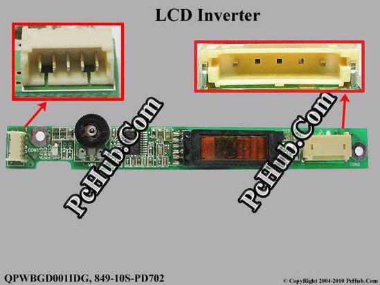 QPWBGD001IDG, 849-10S-PD702