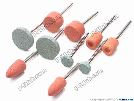66429- Debuffing carbide stone. 5 sizes