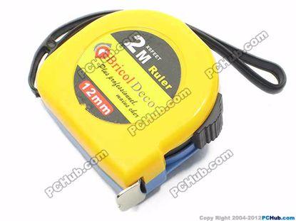 67225- Bricol deco. Blade 12mm. Yellow