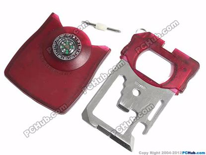 67607- HW545. Compass.Red Color