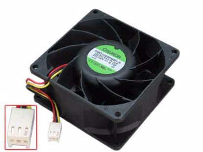 SUPERMICRO Server Chassis NIDEC V80E12BS2A5-57 12V 1.95A Set of 2 Cooling Fans