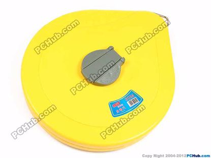 68444- Tape 13mm. 2mm interval. Yellow Case