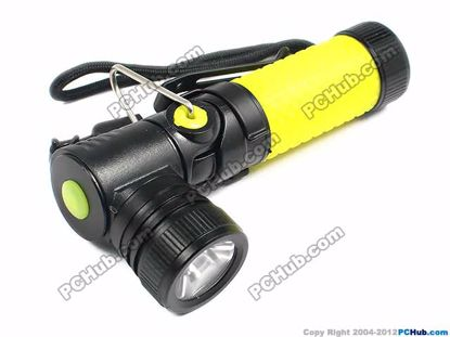 68775- WHP-898. Yellow. 1 x AA Battery. CREE-Q5