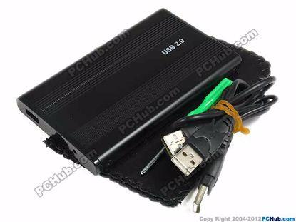 69443- Black Alum. Case