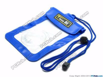 69814- Wp-015. Blue. Shoulder strap