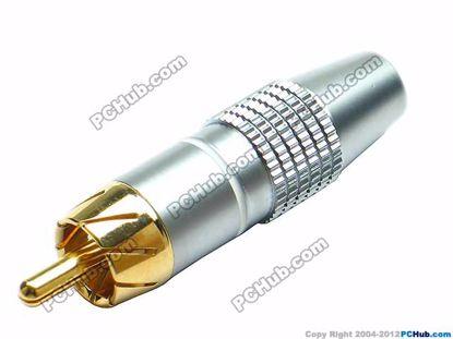 69934- 0838A. White Belt Alloy Handle. Gold Tone P