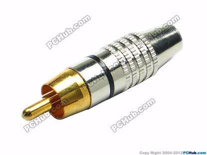 69936- 270. Black Belt Alloy Handle. Gold Tone Plu