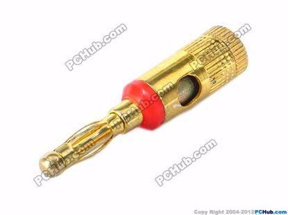 69960- Screw Bracket In Red Belt Copper Handle