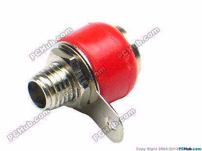 69975- 2640. Red Plastic Handle
