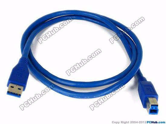73808- 1 Meter length, Blue