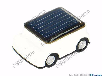 Solar Car, White