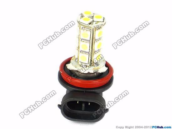 75001- H11. 18x5050 SMD White LED Bulbs