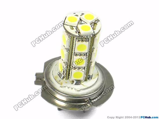 75003- H7. 18x5050 SMD White LED Bulbs