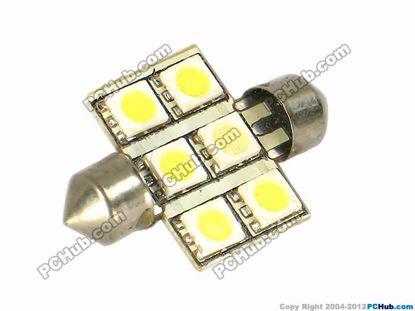75059- 6x5050 SMD White LED Light