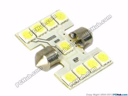 75062- 9x5050 SMD White LED Light
