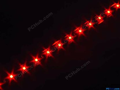 76042- DIY LED Auto Lamp. 15 x 1212 SMD Red LED