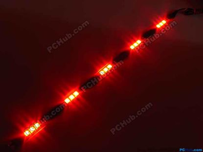 76046- DIY LED Auto Lamp. 15 x 5015 SMD Red LED