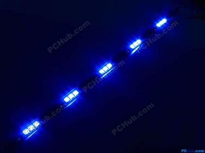 76047- DIY LED Auto Lamp. 15 x 5015 SMD Blue LED