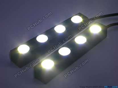 76739- 100% Waterproof. 4 x White LED