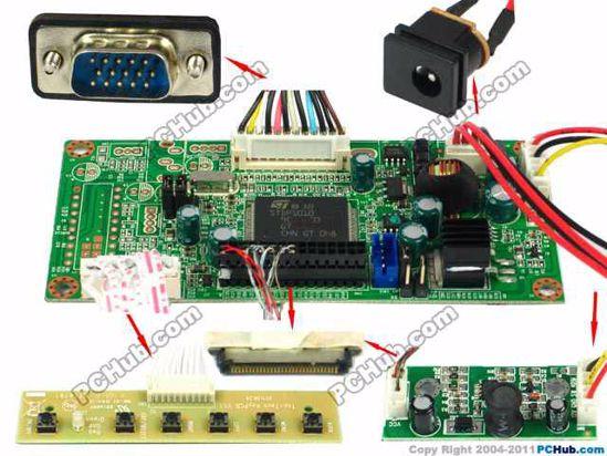 OECTLE007, 1280x800 , 30-pin
