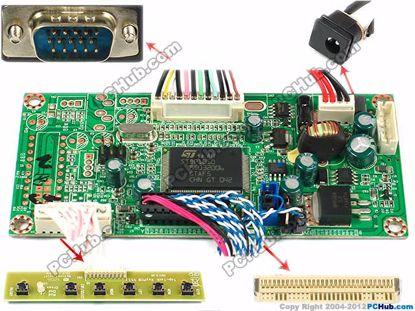 OECTLE009, 1366x768 , 30-pin