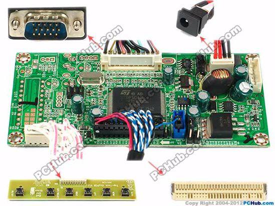 OECTLE010, 1024x600 , 30-pin