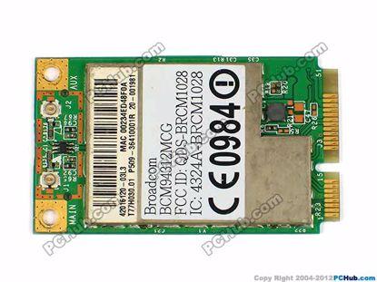 T77H030.01, BCM94312MCG, T77H030