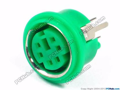 8.2mm Height. Green