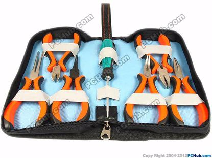 6 x Pliers and 1 x Cross screw driver