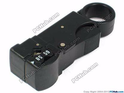 HT-312B, for RG-58/59/62/3C/4C, Black