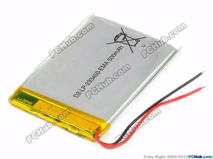 D2-LP-293450-EMA, 2.9x34x50mm (HxWxL)