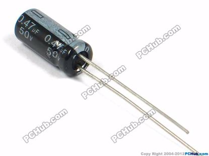 50v 0.47uF, 5x11mm Height