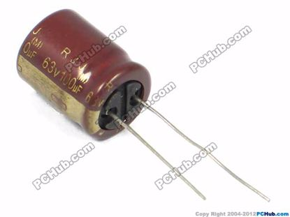 25v 10uF, 5x7mm Height, RJJ