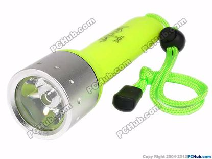 180 lumen cree Q3 LED, Light Green Case