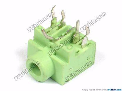 PJ-317, DIP 5-pin, Green
