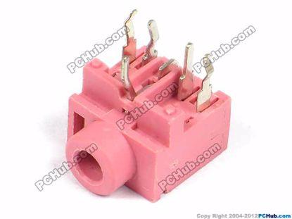 PJ-317, DIP 5-pin, Pink