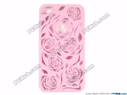 For iPhone 4 /4S, Pink color