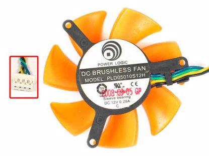PLD05010S12H, Orange