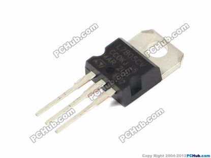 L7805CV, Output: 1.5A / 5V