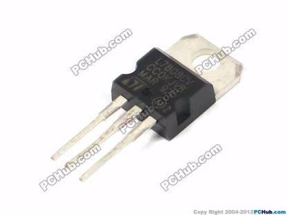 L7808CV, Output: 1.5A / 8V