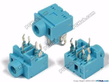 PJ-317, DIP 5-pin, Blue