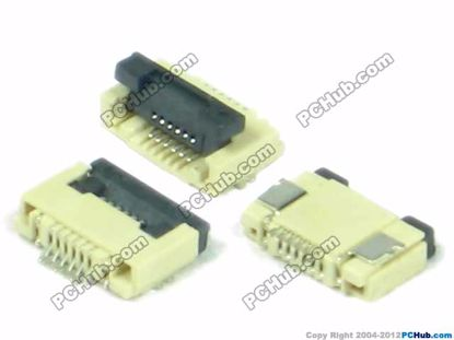 0.5mm Pitch, 6-pin, SMT type