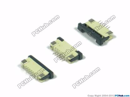 1.0mm Pitch, 6-pin, SMT type