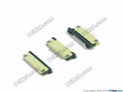 1.0mm Pitch, H=2.5mm, 10-pin, SMT type