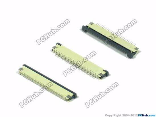 26-pin, 1.0mm Pitch, H=2.5mm, SMT type