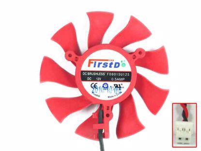 FD8015U12S. Red