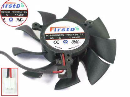 FD8015U12S, Black