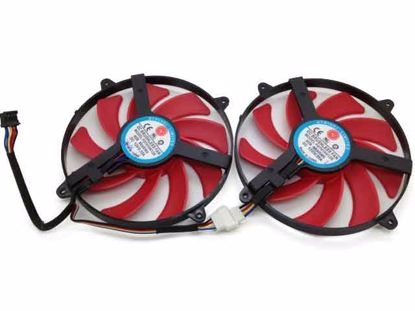 FD7010H12S, Red, 2 Fans