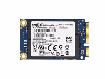 CT250MX200SSD3, 59x30x65mm, New
