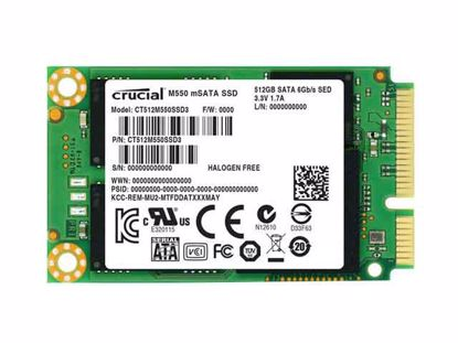 CT512M550SSD3, CT512M550SSD3, 51x30x3.75mm, New